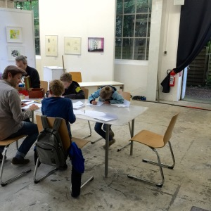 Comic Workshop mit Jan