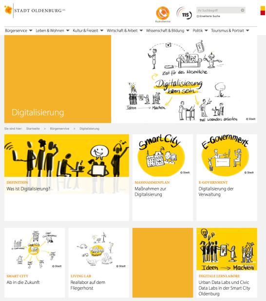 Stabstelle Digitalisierung Stadt Oldenburg